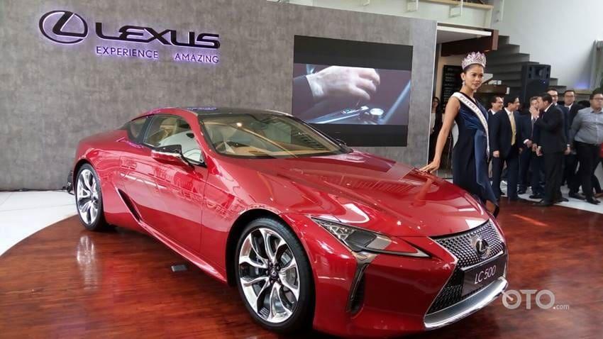 Lexus LC 500 Resmi Dijual Rp 4,290 Miliar