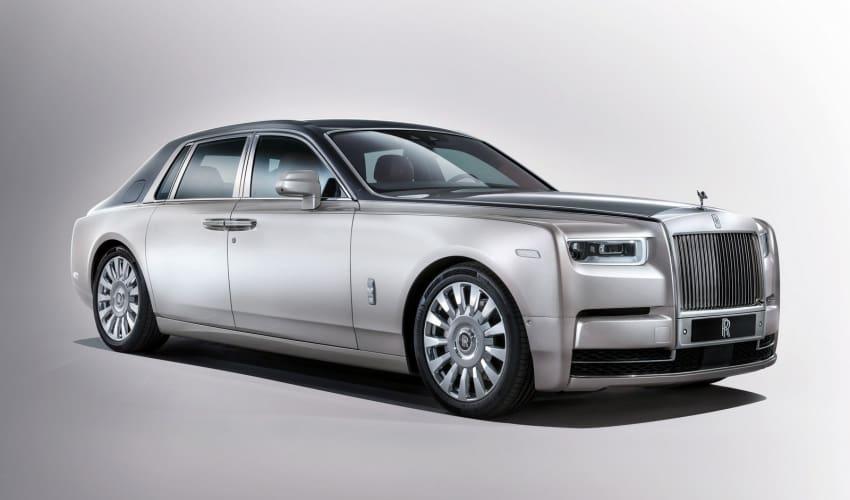 Rolls-Royce Buka Selubung Phantom Terbaru