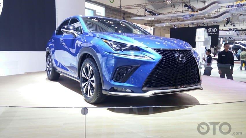 GIIAS 2017: Lexus Menghapus Aksara 't' (turbo) Pada Crossover Terbaru