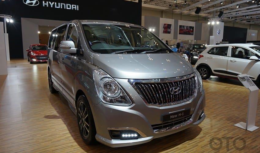GIIAS 2017: Detail Hyundai H-1 Royale, Semakin Mewah