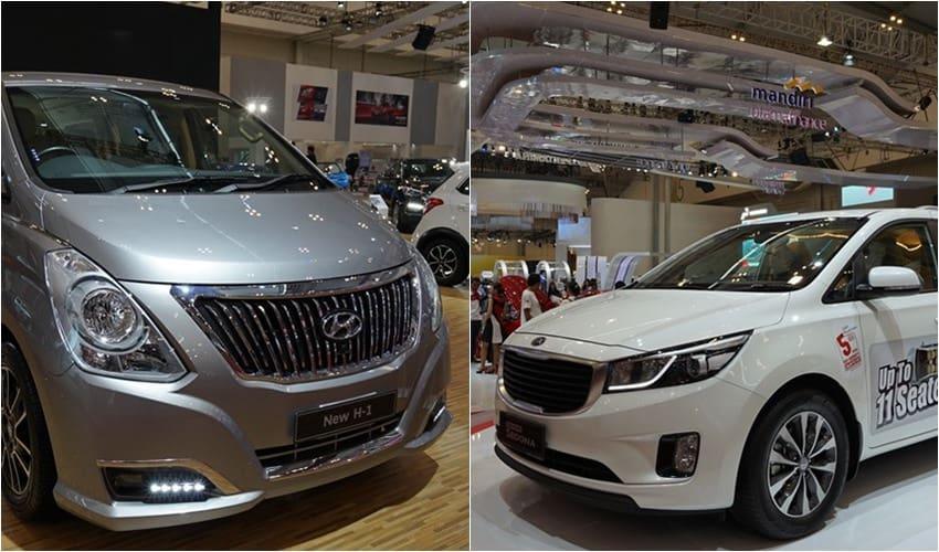 GIIAS 2017: Adu MPV Besar, Hyundai H-1 vs Kia Grand Sedona