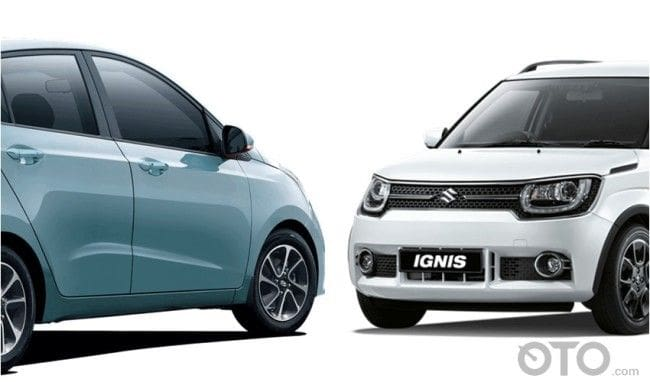 GIIAS 2017: Komparasi City Car, Hyundai Grand i10 vs Suzuki Ignis