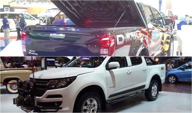 GIIAS 2017: Perang Double Cabin, Isuzu D-Max Rodeo vs Chevrolet Colorado
