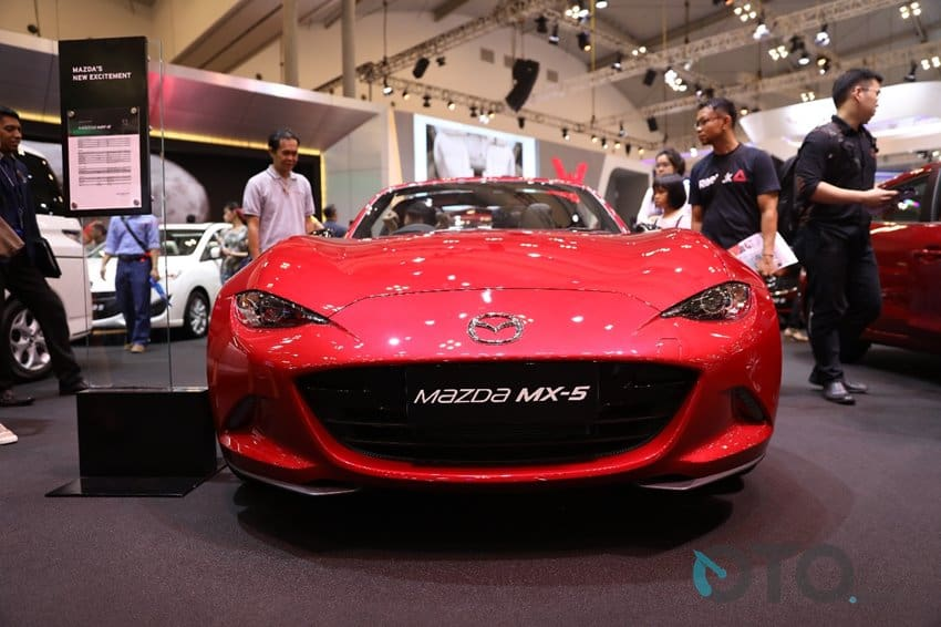 GIIAS 2017: Mazda Terima Pemesanan MX-5 RF