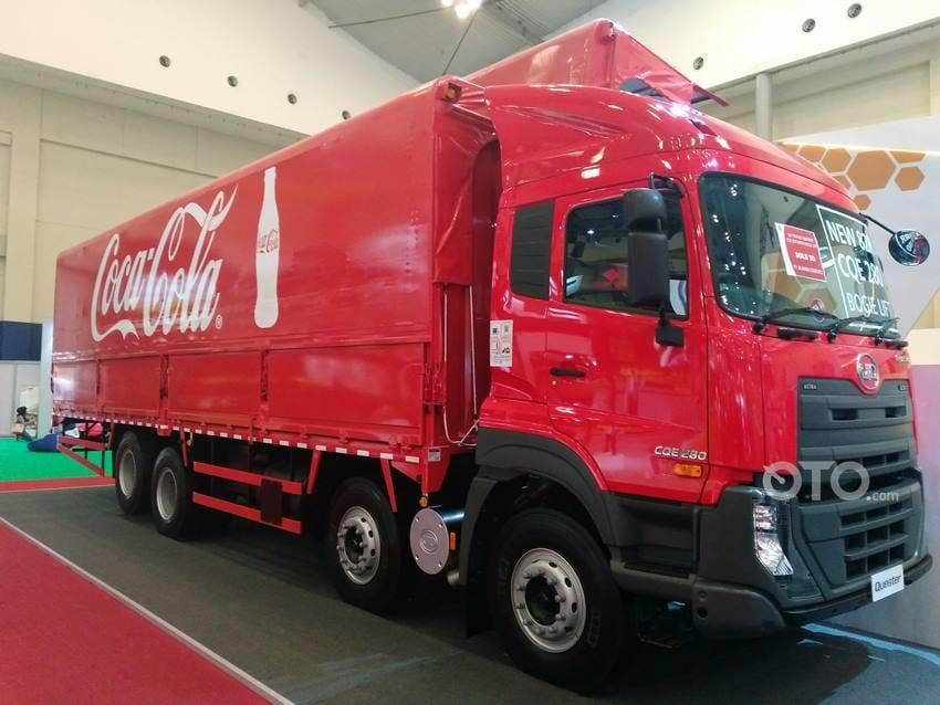 UD Trucks Siap Songsong Kebijakan Euro4, Produk Aman Minum B30