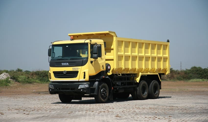 Tata Prima 2528 LX 2528K, Targetkan Sektor Pertambangan dan Infrastruktur