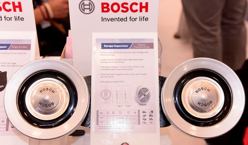 Klakson Canggih Bosch Agar City Car Anda Lebih Nyaring