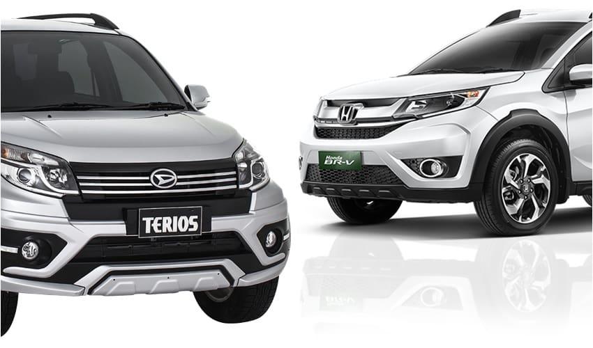 Persaingan Low SUV, Honda BR-V vs Daihatsu Terios