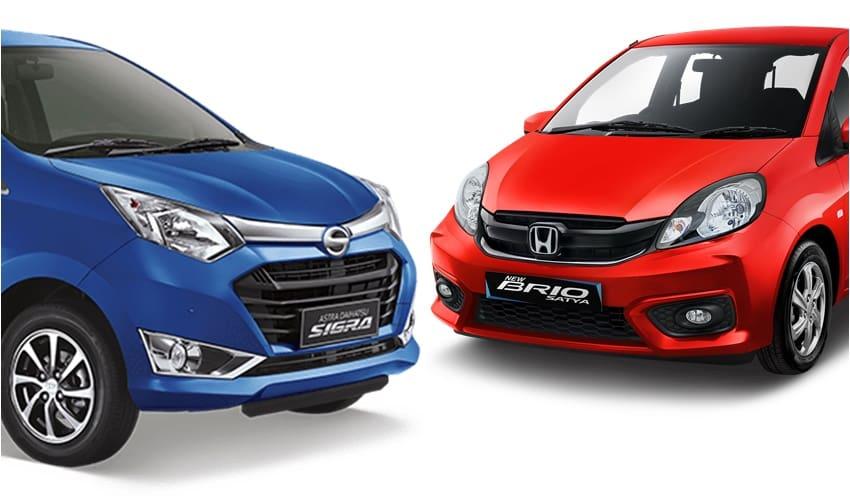 Pilih Mana, Daihatsu Sigra atau Honda Brio Satya?