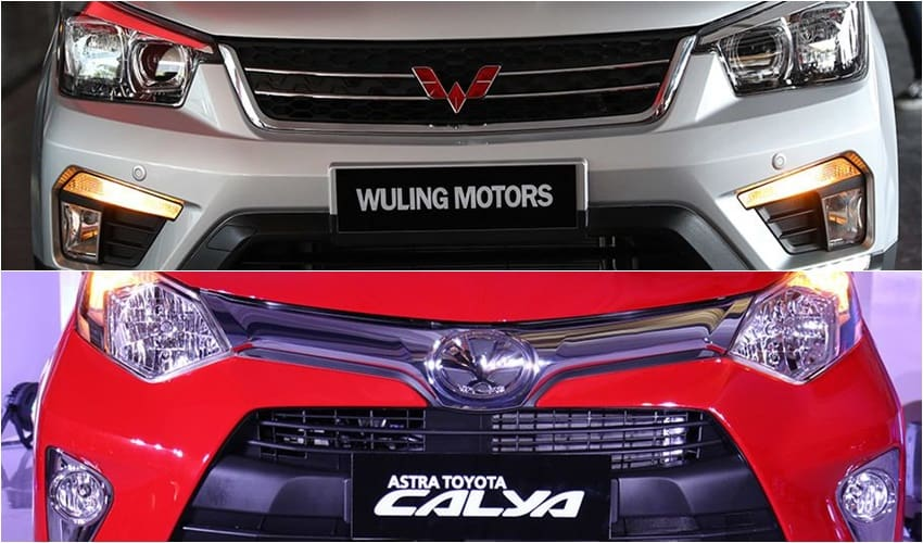 Wuling Confero S vs Toyota Calya