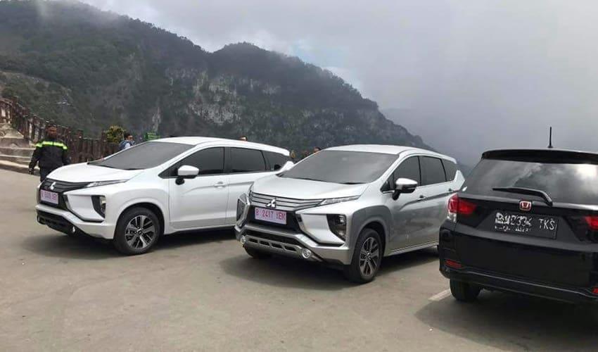 Mitsubishi Xpander Isi 7 Orang Nanjak Gunung, Kuat Gak Ya?