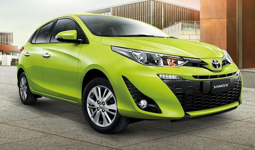 Toyota Yaris 2017 Meluncur Dengan Mesin 1,2 Liter