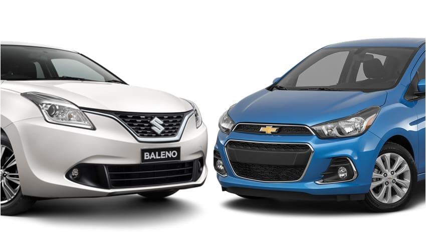 Suzuki Baleno vs Chevrolet Spark 1.4 LTZ