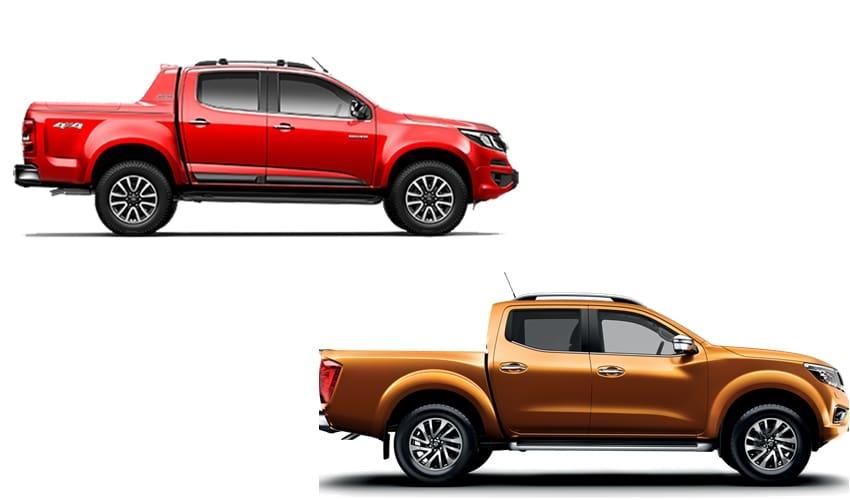 Adu Fitur D-Cab, Chevrolet Colorado vs Nissan Navara
