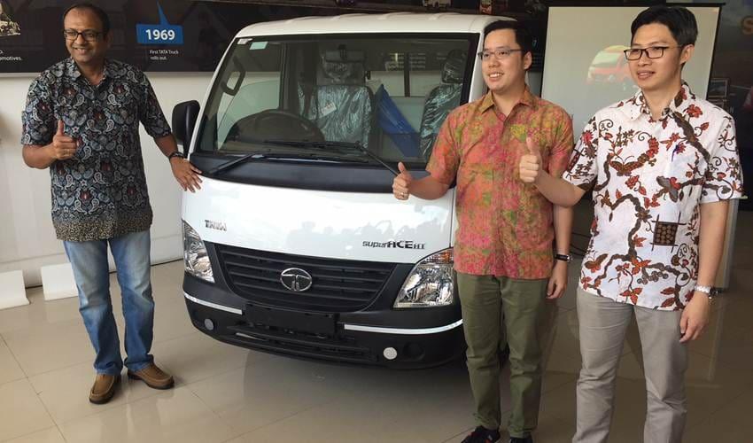 Tata Super Ace Meluncur di Makassar