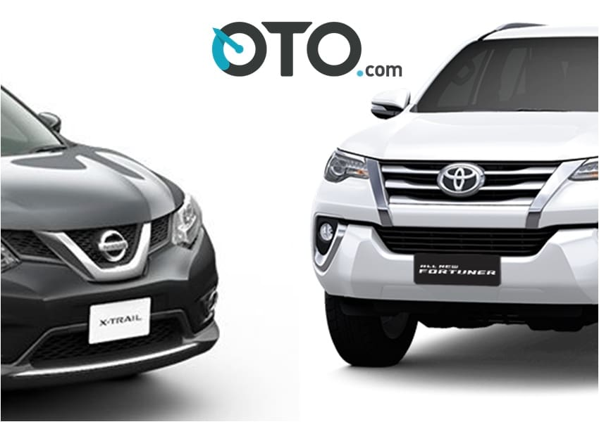 Komparasi Performa Nissan X-Trail VS Toyota Fortuner Bensin