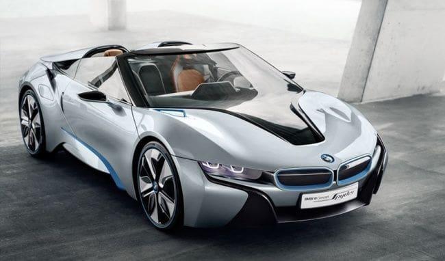 BMW i8 Roadster Debut Akhir Bulan ini