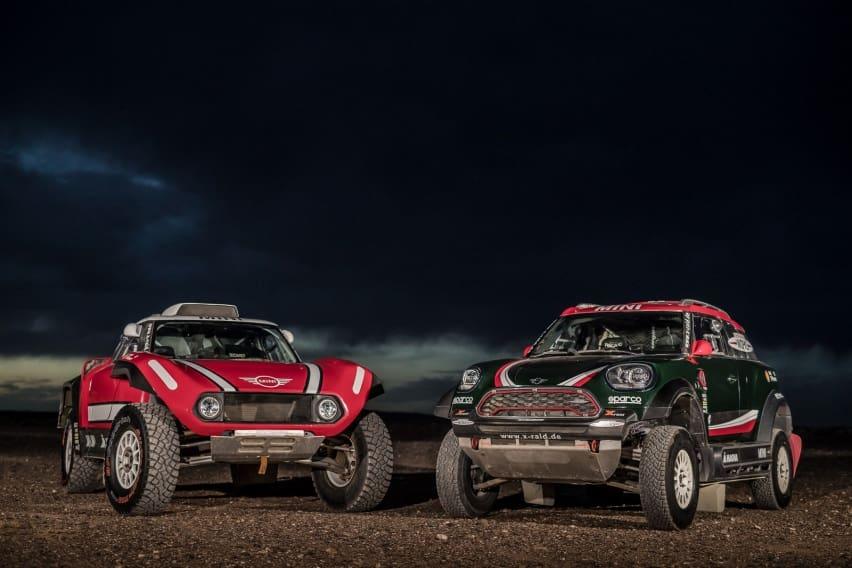 Mini Siapkan Mobil Balap Reli Paris Dakar Baru
