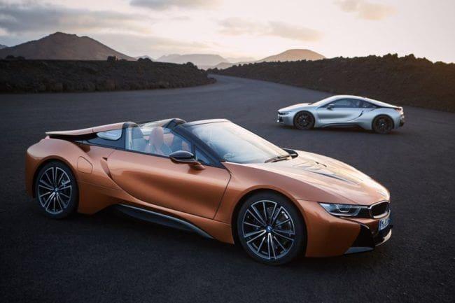 BMW i8 Roadster, Lebih Eksotis Tanpa Atap