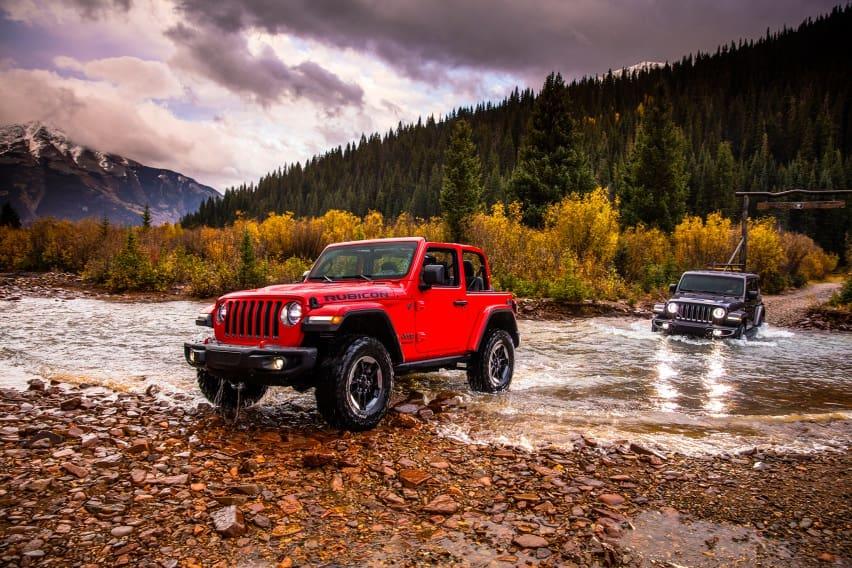 Jeep Wrangler Plug-in Hybrid Meluncur 2020