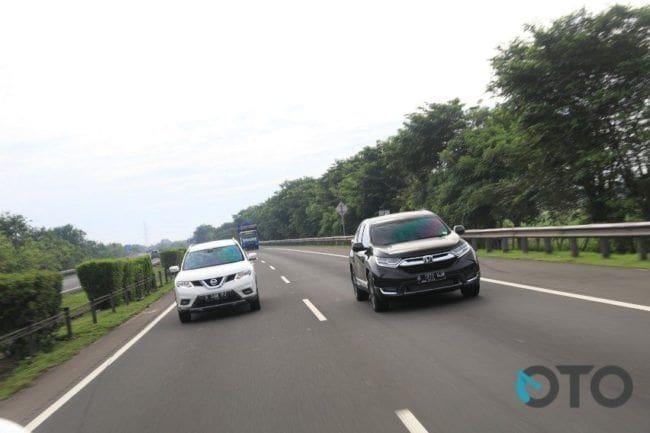 Comparison Test: Honda CR-V Turbo vs Nissan X-Trail Hybrid (Part-3)