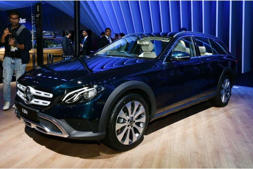 Mercedes-Benz E-Class All-Terrain Sudah Sampai India