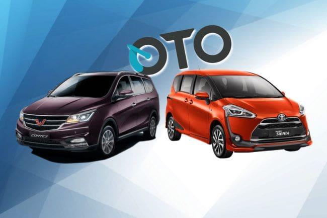 Pilihan Mobil Keluarga, Wuling Cortez atau Toyota Sienta?