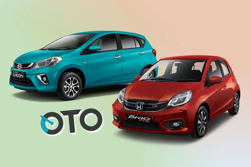 All New Daihatsu Sirion AT VS Honda Brio RS CVT