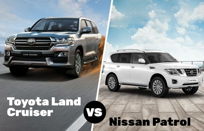 The Giant Conundrum: Toyota Land Cruiser or Nissan Patrol