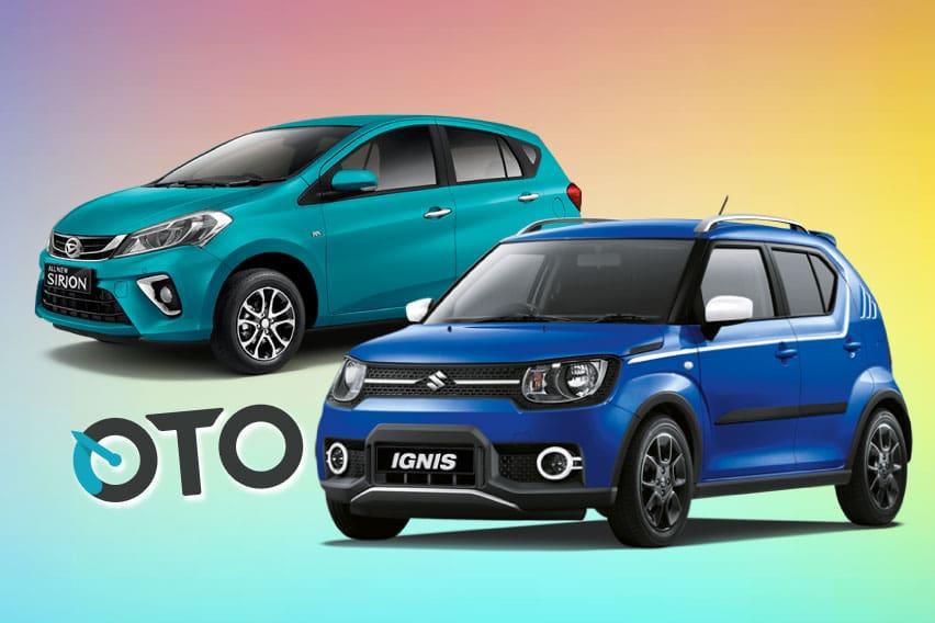 All new Daihatsu Sirion AT vs Suzuki Ignis GX AGS