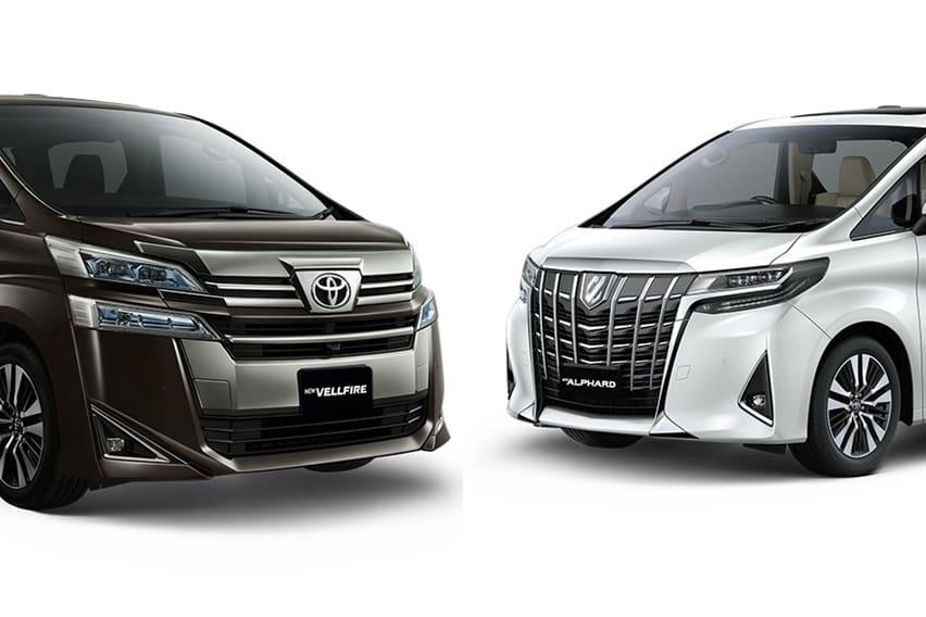 Perbedaan Toyota Alphard Dengan Toyota Vellfire 2018 Oto