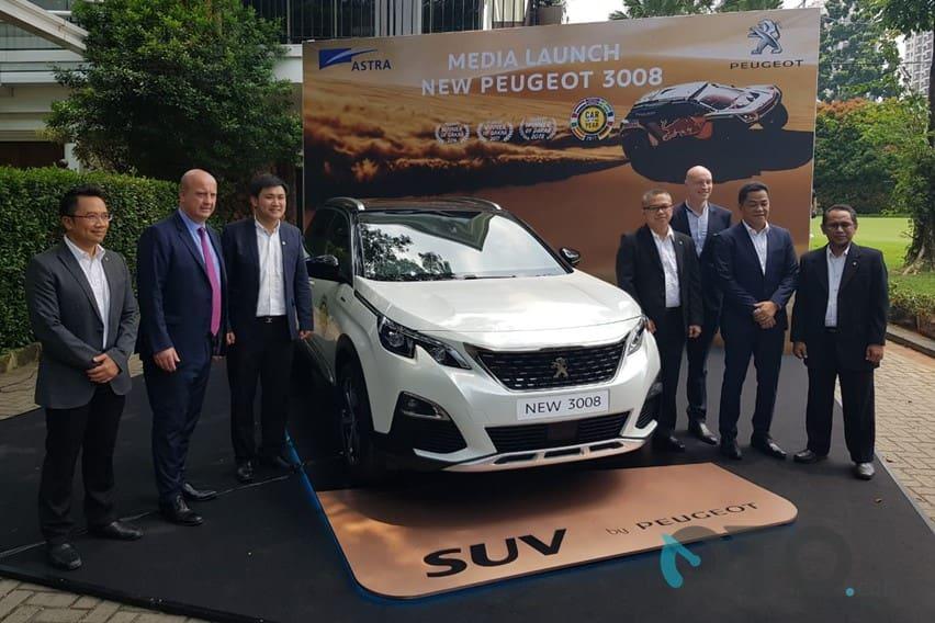 Peugeot 3008 Generasi Baru Resmi Dipasarkan Di Indonesia