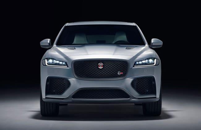 Jaguar F-Pace receives the powerful SVR treatment