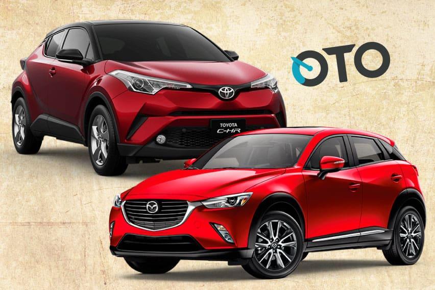 Perbandingan Toyota C-HR dan Mazda CX-3