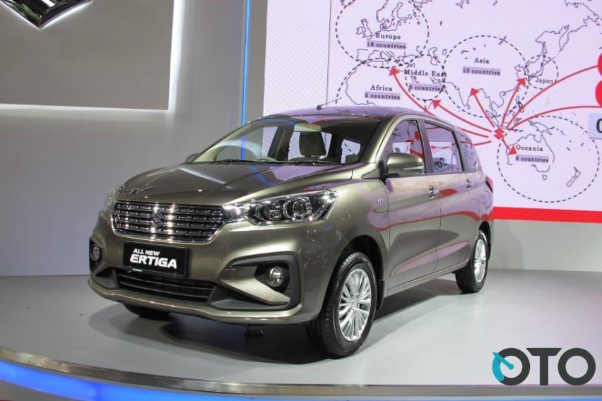 IIMS 2018: All New Suzuki Ertiga Diperkenalkan