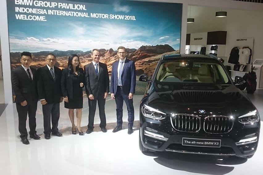 IIMS 2018: BMW Pamerkan X3 Baru, i8 Bisa Test Drive