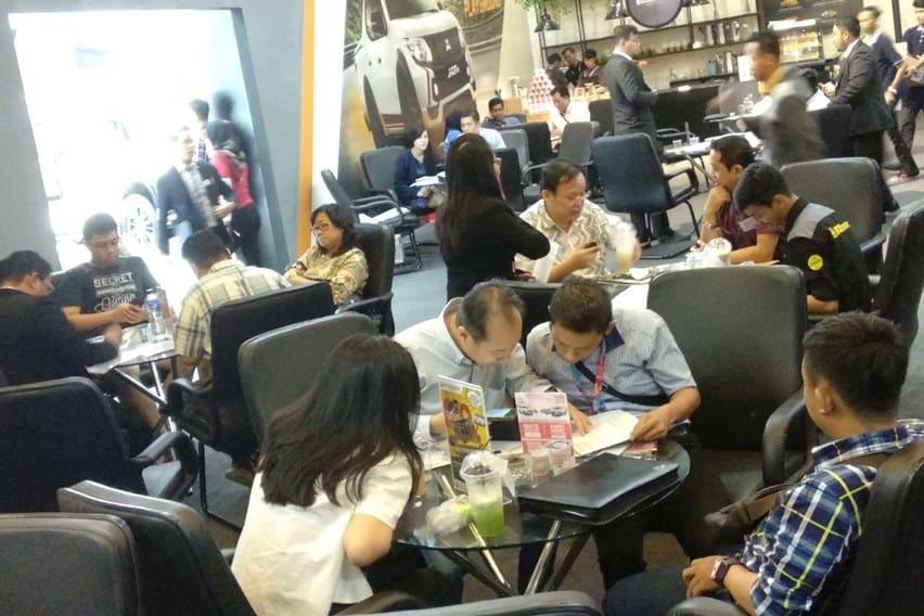 IIMS 2018: Mandiri Tunas Finance Tawarkan Bunga 0% dan DP Hanya 9%
