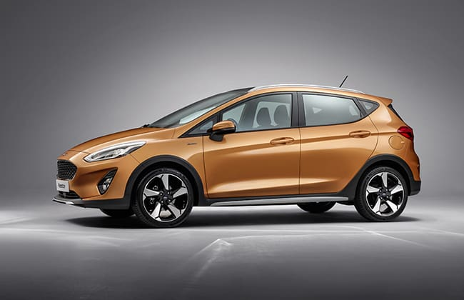 The all-new Ford Fiesta Active offers an SUV appeal