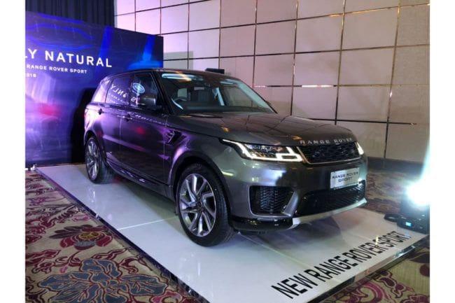 Range Rover Sport 2018 Meluncur Tanpa Ubahan Berarti