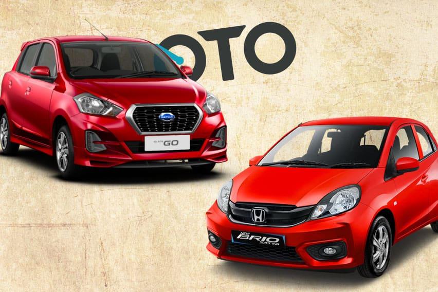 Membandingkan Datsun GO CVT vs Honda Brio Satya E CVT