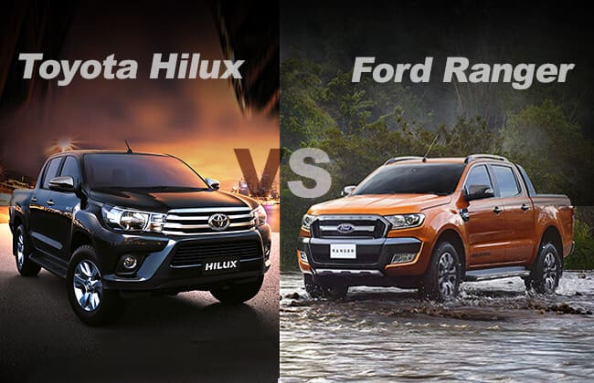 Ford Ranger or Toyota Hilux, the better pickup
