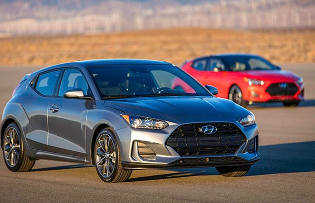 Hyundai unveils all-new 2019 Veloster and Veloster Turbo