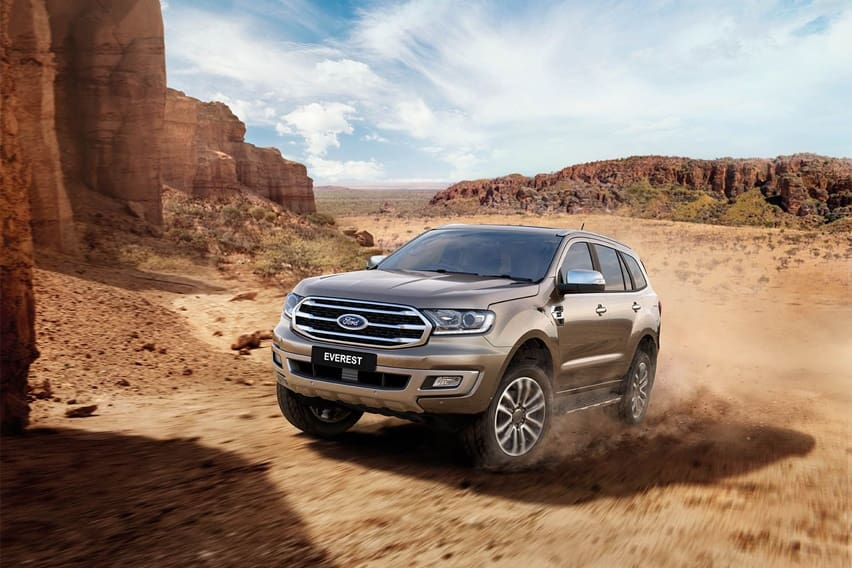 The best tech features of the Ford Everest Titanium