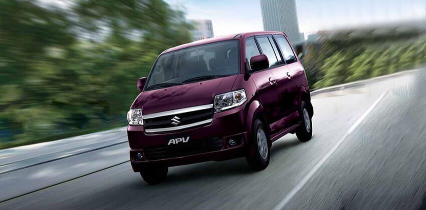 An above-average, practical van: The Suzuki APV GLX MT