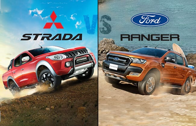 Mitsubishi Strada vs Ford Ranger: Which one is the best pickup?