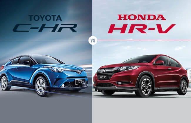 Honda HR-V vs Toyota C-HR: Function or form?