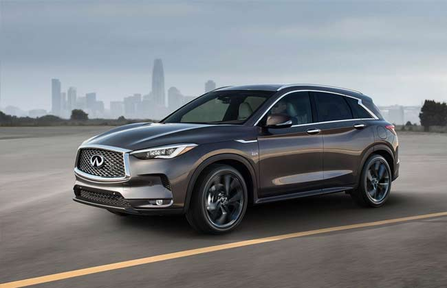 All-new Infiniti QX50 unveiled in the UAE
