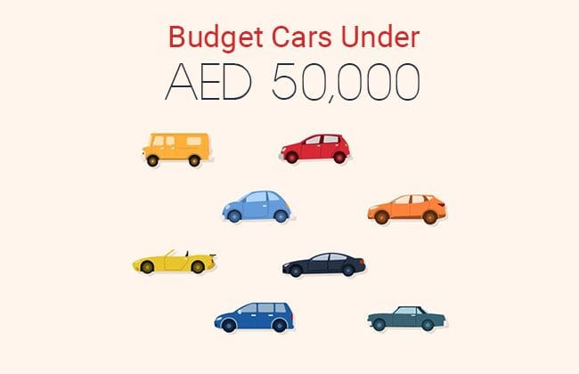 Top budget cars under AED 50,000
