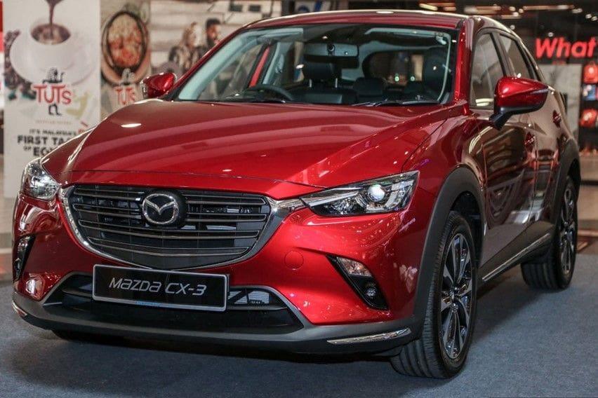 Mazda CX-3 masih dijual di bawah CX-30