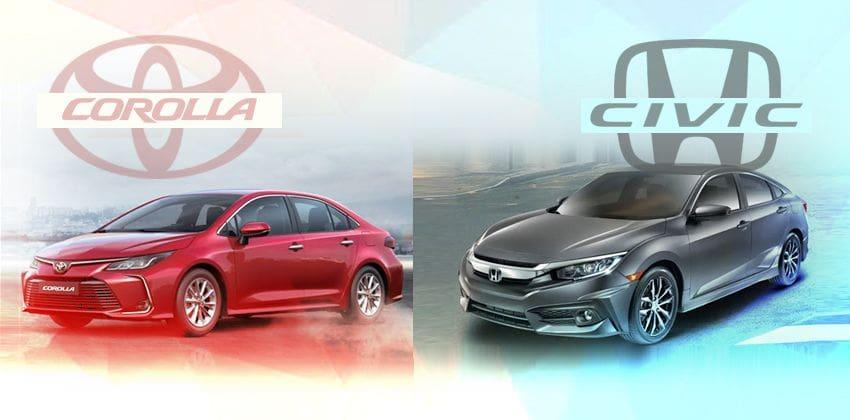 2020 Toyota Corolla vs 2020 Honda Civic
